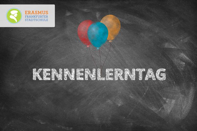 Termin: Kennenlerntag ~ Erasmus Gymnasium Frankfurt ~ Trilinguale weiterführende Privatschule