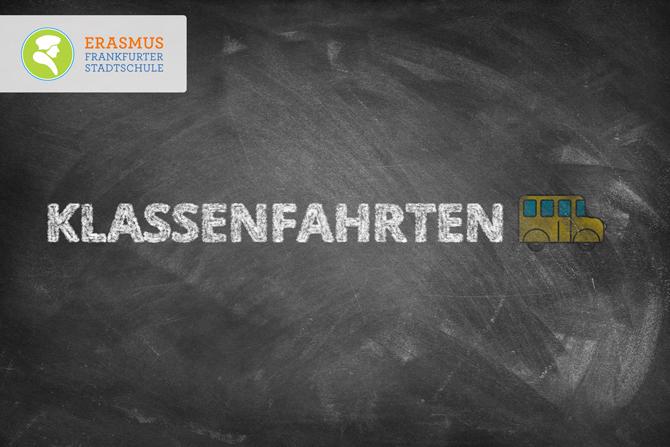 Termin: Klassenfahrten ~ Erasmus Gymnasium Frankfurt ~ Trilinguale weiterführende Privatschule